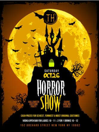 THE HORROR SHOW COSTUME PARTY