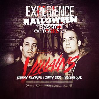 EXPERIENCE Halloween @ Bassmnt