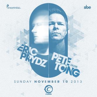 ERIC PRYDZ + PETE TONG: Main Image