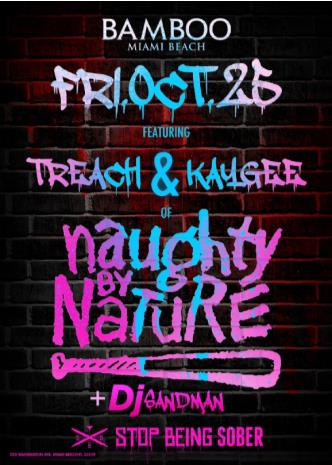 Naughty By Nature at Bamboo