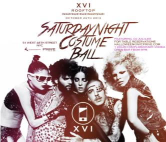 XVI Rooftop Costume Bash