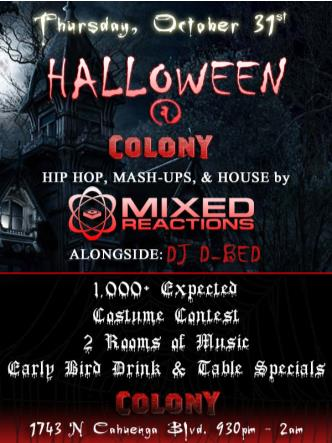 HALLOWEEN at THE COLONY