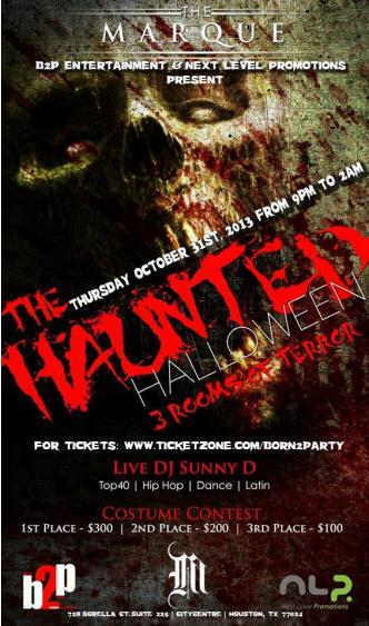 Haunted Halloween at Marque