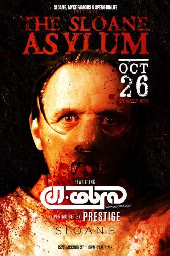SLOANE Asylum Feat DJ COBRA