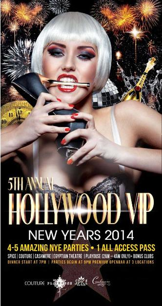 5th Hollywood VIP New Years -