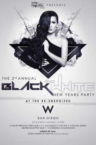 2nd 2014 Black & White Party