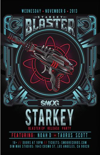 STARKEY: BLASTER RELEASE PARTY: Main Image
