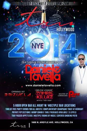 TRU Hollywood NYE 2014
