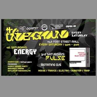 Saturdays @ The Underground tickets