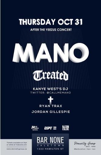 Kanye West's DJ - DJ Mano