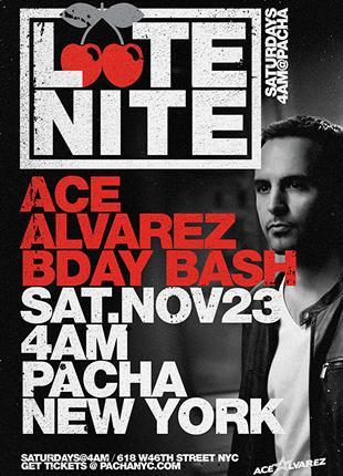 LATE NITE: Ace Alvarez: Main Image
