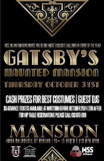 Halloween 2013Gatsby's Mansion