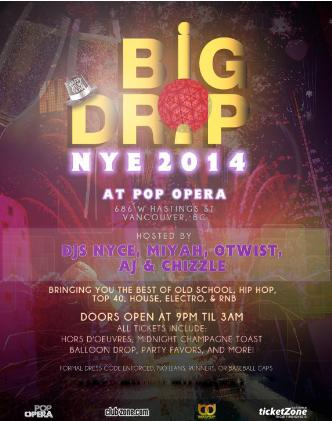 BIG DROP NYE 2014