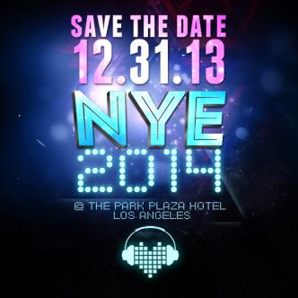 NYE 2014 at PARK PLAZA