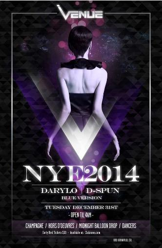 VENUE NYE 2014 at Venue