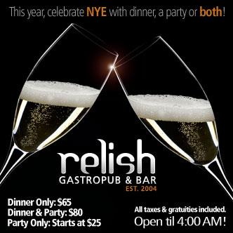 Relish New Years Eve 2013/2014
