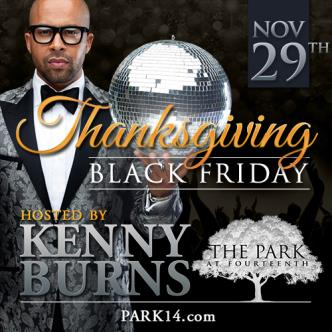 Kenny Burns host Black Friday: Main Image