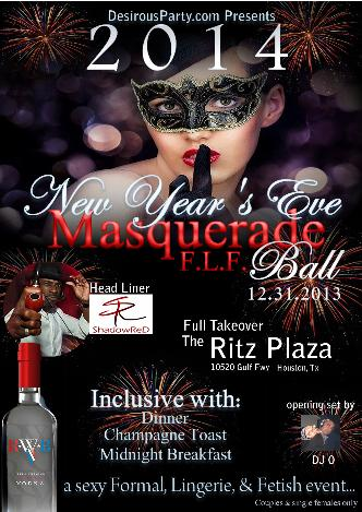 Houston NYE Masquerade Party