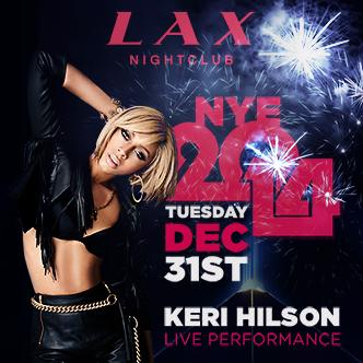 LAX NYE with Keri Hilson