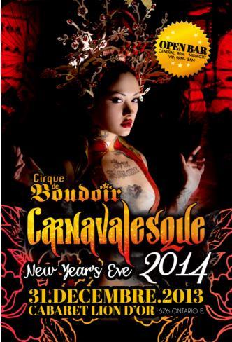CARNAVALESQUE 2014