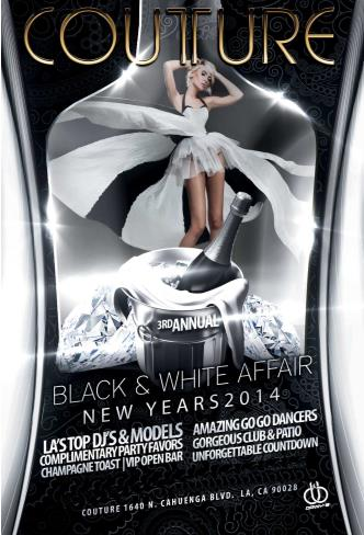 3rd Black & White Affair NYE