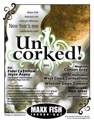 UNCORKED! New Year's Eve 2014