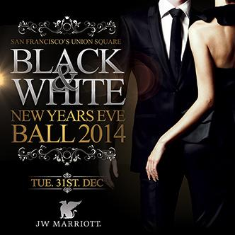 Black & White NYE Ball 2014