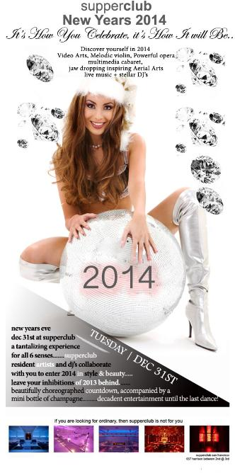 Tantalizing New Years Eve 2014