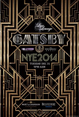 The Great Gatsby NYE 2014
