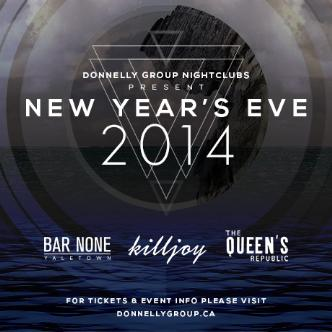 NYE @ THE QUEEN'S REPUBLIC