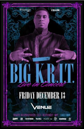 Big K.R.I.T. - #BlueprintLive :: Venue at Venue