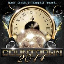 NYE Countdown $65 5hr Open Bar