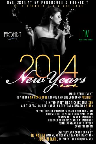 NYE 2014 at NV Penthouse