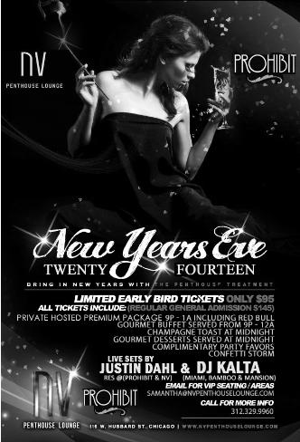 NYE 2014 at NV Penthouse