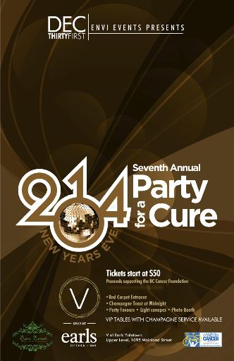 NYE 2014 - Party for a Cure