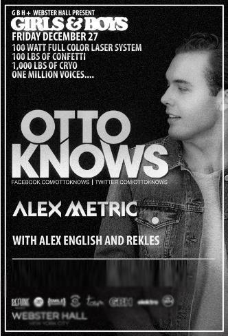 Otto Knows + Alex Metric