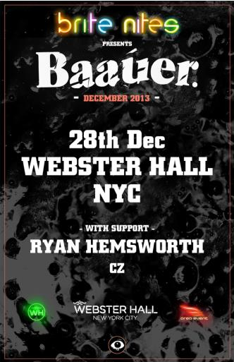 Baauer + Ryan Hemsworth + CZ