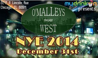 O'Malley's West NYE 2014