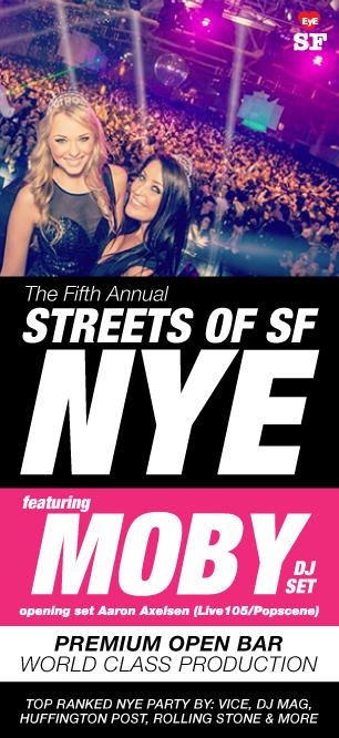 STREETS OF SAN FRANCISCO NYE