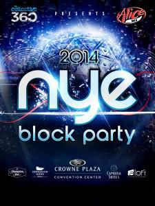 NYE Block Party 2014