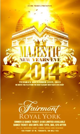 Majestic NYE 2014