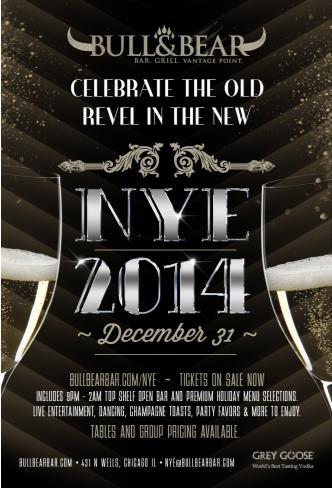 NYE 2014 at Bull & Bear