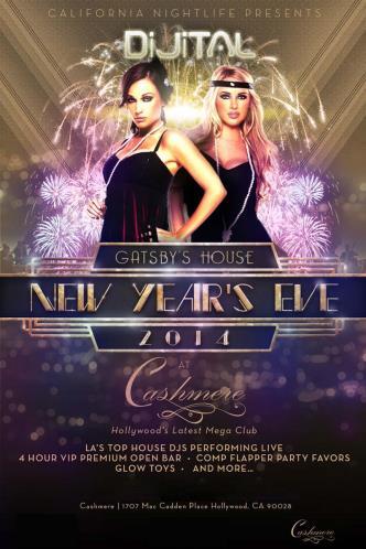 Gatsby's House NYE 2014