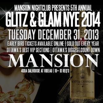 NYE 2014 inside MANSION |