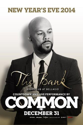 Common LIVE New Years Eve 2014
