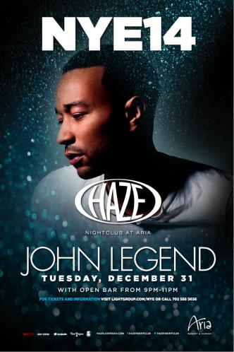 New Years Eve with John Legend