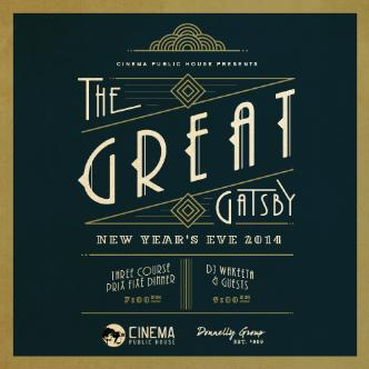 Cinema New Year's Eve 2014