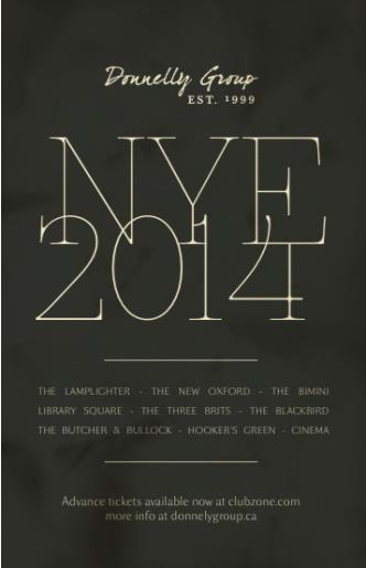 Cinema New Years Eve 2014
