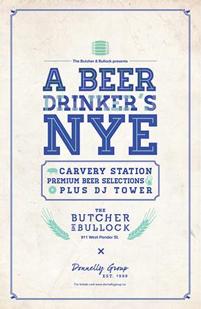 Butcher & Bullock NYE 2014