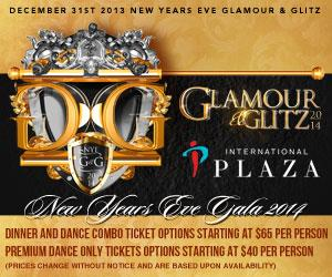 GLAMOUR AND GLITZ NYE GALA